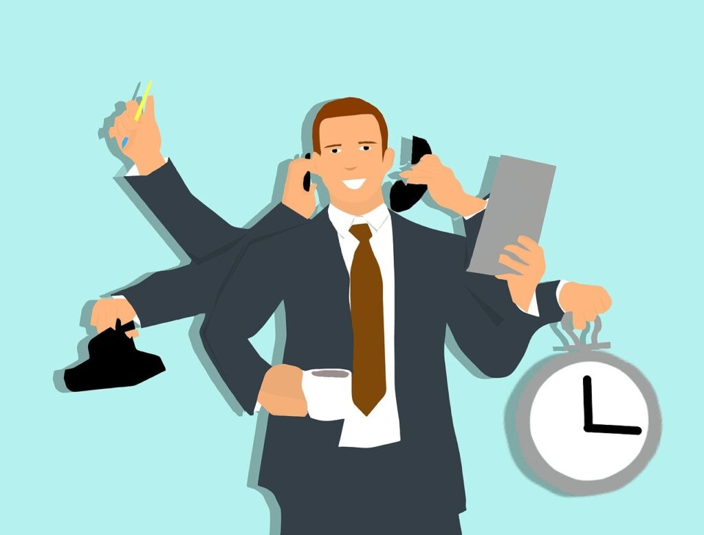 multi-tasking, efficiency, manager-2840792.jpg
